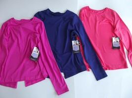 AVIA Active GIRLS Size XL (14-16) Moisture Wicking Mesh Detail Tee - $5.96