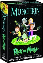 MUNCHKIN: Rick And Morty Card Game | Rick and Morty Adult Swim Munchkin Board Ga - $24.65