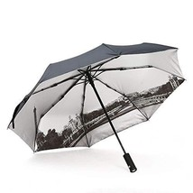 Compact Folding Travel Umbrella Windproof Waterproof, Auto Open Close wi... - $20.02