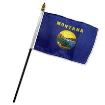 "Montana State Flag 4""x6"" Desk Table Stick - $16.00"