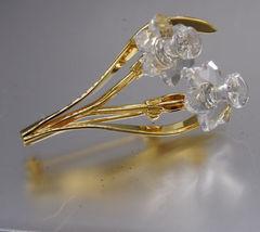 Swarovski Crystal Memories Collection Mini Daffodil Pin - $28.00