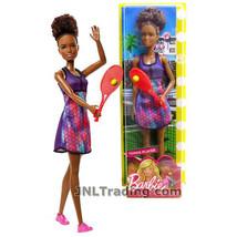 "NEW 2017 Barbie Career Series 12"" Doll SHANI as TENNIS PLAYER FJB11 + Ra... - $24.99"