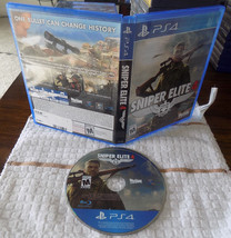 Sniper Elite 4 game disc w/case great shape PS4 Playstation 4 - $29.95
