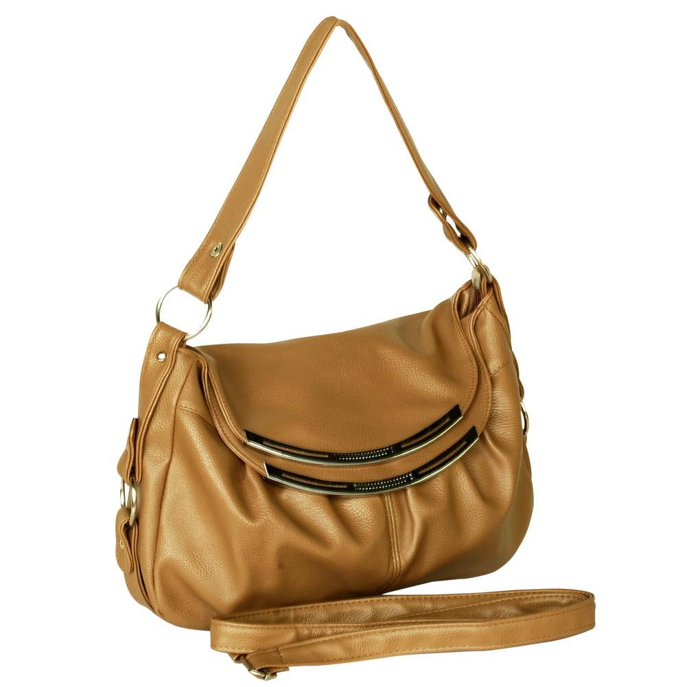 [Quietly Elegant] Charm Griege Single Handle Handbag - $24.99