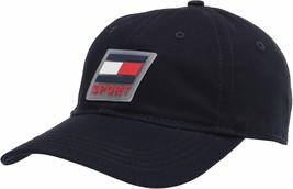 Tommy Hilfiger Men's Rubber Logo Branding Hat Sports Baseball Cap 6950890 image 2