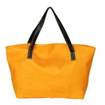 [Real Love] Stylish Yellow Double Handle Bag Handbag - $31.78 CAD