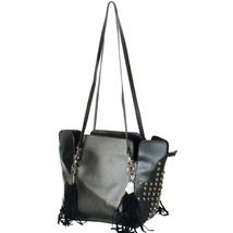 [Only You] Stylish Black Double Handle Bag Handbag - $35.99