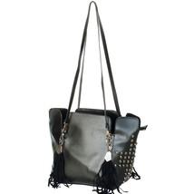 [Only You] Stylish Black Double Handle Bag Handbag - $35.99