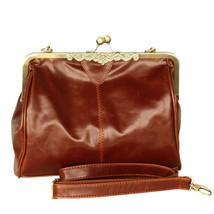 [Touch Me] Stylish Brown Single Handle Bag Handbag - $22.99