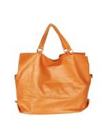 [Elaine Favourite] Stylish Brown Double Handle Bag - $19.89
