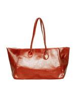 [Only Time] Stylish Coffee Double Handle Bag Handbag - $25.99