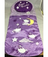 """Our Generation Battat Sleepover Sleeping Bag and Pillow 18"""" Doll   - $14.65"""
