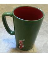 Friends Maggie Lindley Designs 13 oz mug cup thank you Christmas stockin... - $22.76