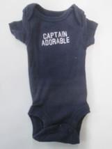 Carters Captain Adorable short sleeve romper SIZE PREEMIE - $2.92