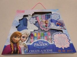 New Disney FROZEN Craft lot create your own Winter Wonderland w/ glitter... - $12.38