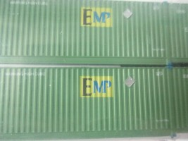 Jacksonville Terminal Company # 537003 EMP (GREEN) 53' Container  N-Scale image 2