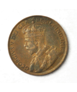 1920 1c Canada Large One Cent Penny KM#21 Bronze  - $9.89
