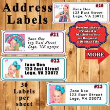 JoJo Siwa Birthday Address Labels Personalized - $5.75
