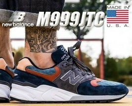 New Balance M999JTC GREY/NAVY/TAN Size 11.5 Made In Usa New With Box Rare $190 - $117.55