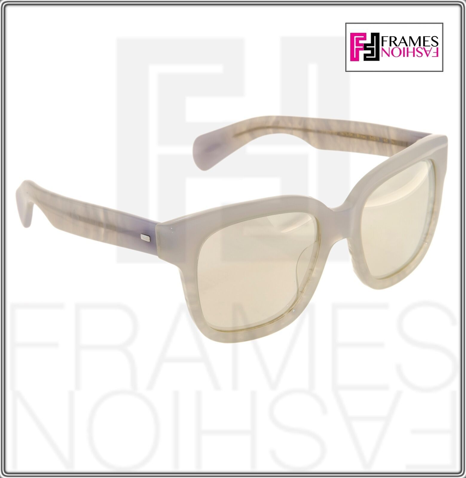 OLIVER PEOPLES Brinley OV5281SU Opal Pearl Gold Mirrored Sunglasses 5281 image 6