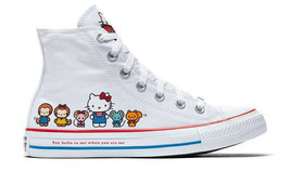 Converse X by Hello Kitty Limited Edition Sneakers Unisex Shoes Men's Women's image 2