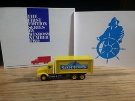 Winross Kenworth T800 Box Truck Gorton's First Edition Series #2 1:64 - $16.95
