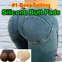 Butt Silicone buttock Pads Enhancer Shaper Big Hip Brief  Panties Tummy Control - $28.02