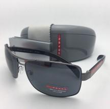 Prada Sport Polarisierte Sonnenbrillen Sps 54i 5av-5z1 65-14 Gusszinnbronze
