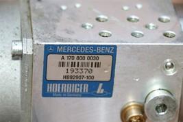 Mercedes W170 SLK320 SLK 430 Convertible Top Hydraulic Pump Motor A1708000030 image 2
