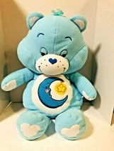 "Care Bears Plush Bedtime Bear Blue Extra Large 26"" Stuffed Animal 2002 M... - $25.69"