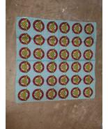 Wonder Woman Bandana Blue, Red with Yellow WW Pattern 100% Cotton 22 x 22 - $24.99