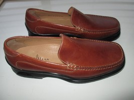 Cole Haan Full Grain Leather Loafer Men' Shoes Cognac Toast 7.5M 8D (labeled 8M - $66.49