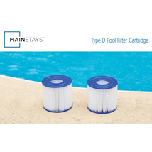 Mainstays Type VII, D Replacement Pool Filter Cartridge, 2 Pack image 4