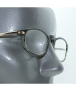 Smart Olive Green & Gold Reading Glasses Classic Oval Frame +2.00 - $18.00