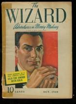 The Wizard Pulp Feb 1940 Street Smith Cash Gorman First G/VG - $212.19