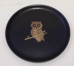 """EAMES ERA MID CENTURY MODERN-- COUROC OWL ROUND TRAY 10 1/2"""" - $27.45"""
