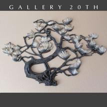 ASIAN MOTIF MID CENTURY MODERN WALL ART! Bonsai Sculpture Eames Vtg Tree... - €417,05 EUR