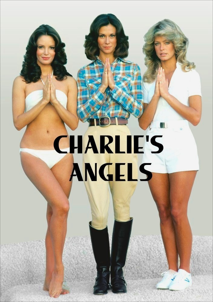 Primary image for Charlie's Angel's Stand-Up Display # 1 Farrah Fawcett Jaclyn Smith Kate Jackson