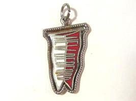 New Bedford vintage sterling silver enamel charm/pendant - $7.00