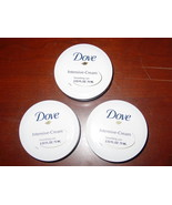 3 x DOVE CREME Intensive Cream Nourishing Care 2.53 oz / 75ml NEW sealed - $12.16