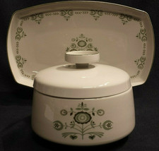Mid-Century Modern Vtg Franciscan Discovery Interpace Heritage Casserole... - $29.65