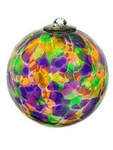 5 Inch Tuscany Art Glass Friendship Ball - $26.00