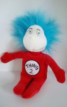 Dr Seuss Cat in the Hat Thing 2 Small Plush Bean Bag Stuffed Animal Doll... - $4.94