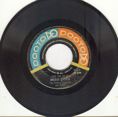 REDD FOXX 45rpm Have One On Me Political Argument, More