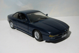 ~ 1992 BMW 850i Coupe - 1:24  Revell LE Diecast   Mauritian Blue    MIB - $19.95