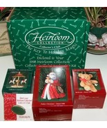 Carlton Christmas Ornaments Heirloom Collection... - $29.99