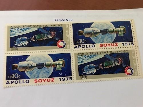 USA United States Apollo- Soyuz block mnh 1975      stamps