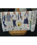 Butterick 4755 Girl's Vest, Top, Skirt, Shorts & Pants Pattern - Size S-... - $5.93
