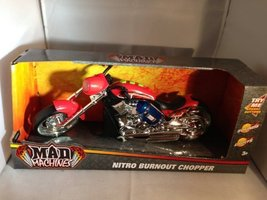 Mad Machines Nitro Burnout Chopper by Toystate image 2