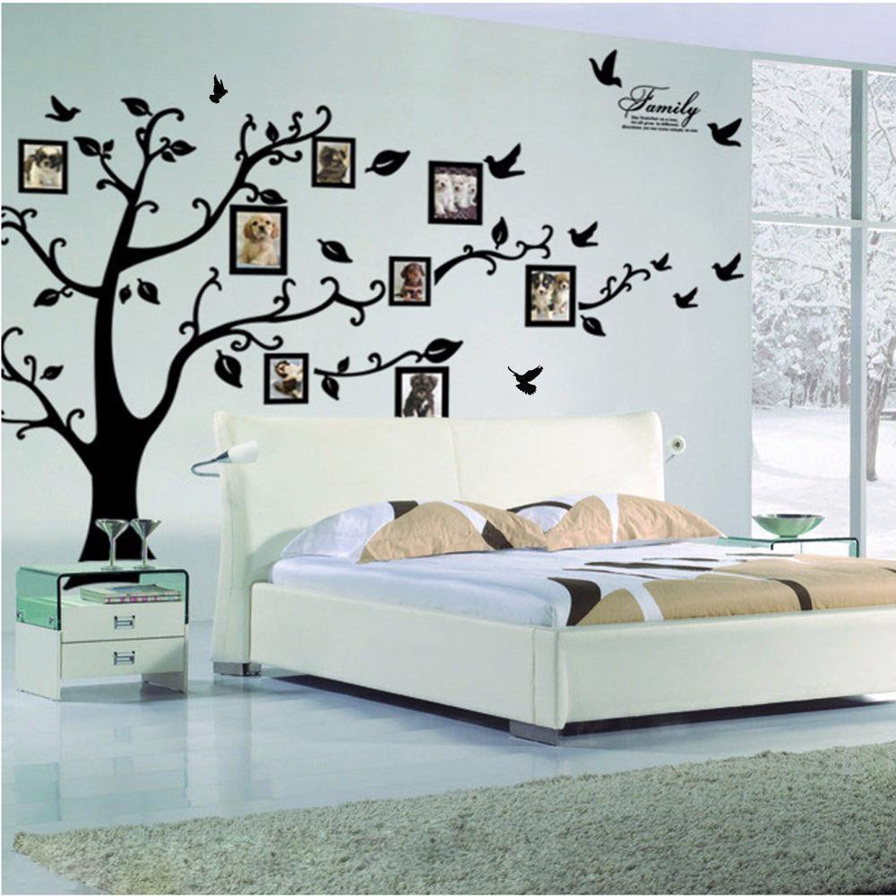 Removable Wall Sticker Vinyl Home Decor Wall Art Room Family Photo Frames Design - $12.91